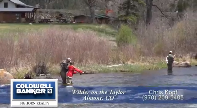 Wilder on the Taylor Riverfront homesites, Private Fly Fishing water