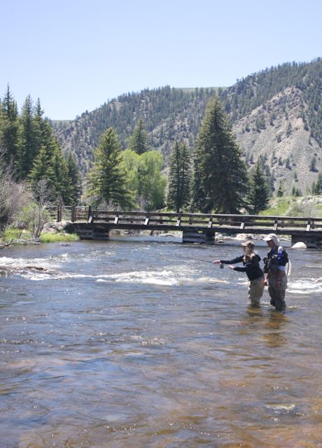 Crested Butte Private Fly Fishing Water