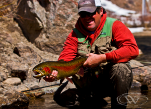 Wilder on the Taylor Large Trout