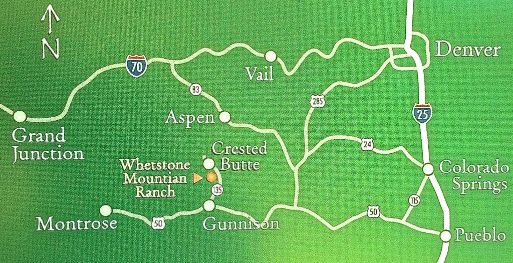 Whetstone Mountain Ranch Map
