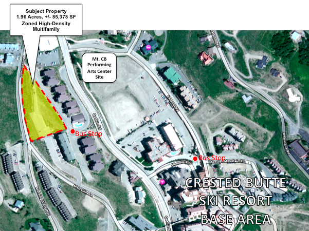 Crested Butte Real Estate Development Site