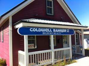 Coldwell Banker Office Sign