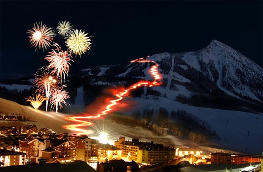 White Christmas Activities in Crested Butte