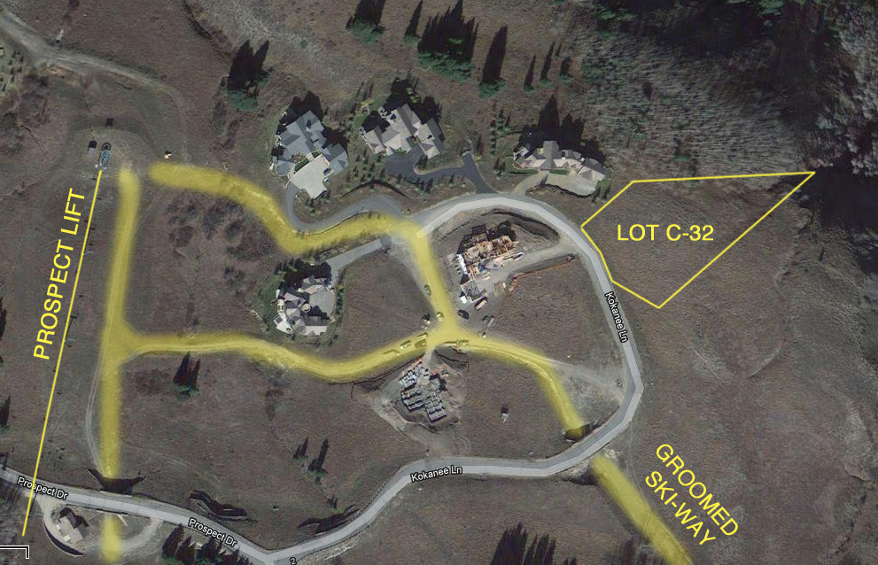 Prospect Ski-in Ski-out Lot C-32 For Sale Mt. Crested Butte, Colorado