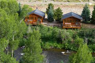Three Rivers Resort Cabins on the River