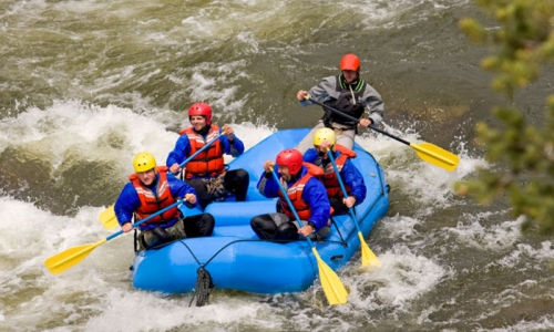 Whitewater Rafting in Crested Butte, CO