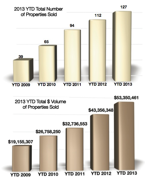 Crested Butte Real Estate Volume 5-2013