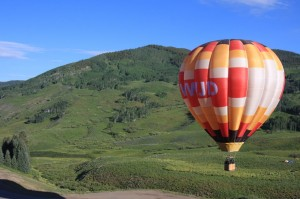 Crested Butte CO Real Estate Hot Air Ballon RIdes