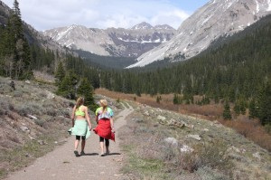 Crested Butte Real Estate Hiking hike-snow