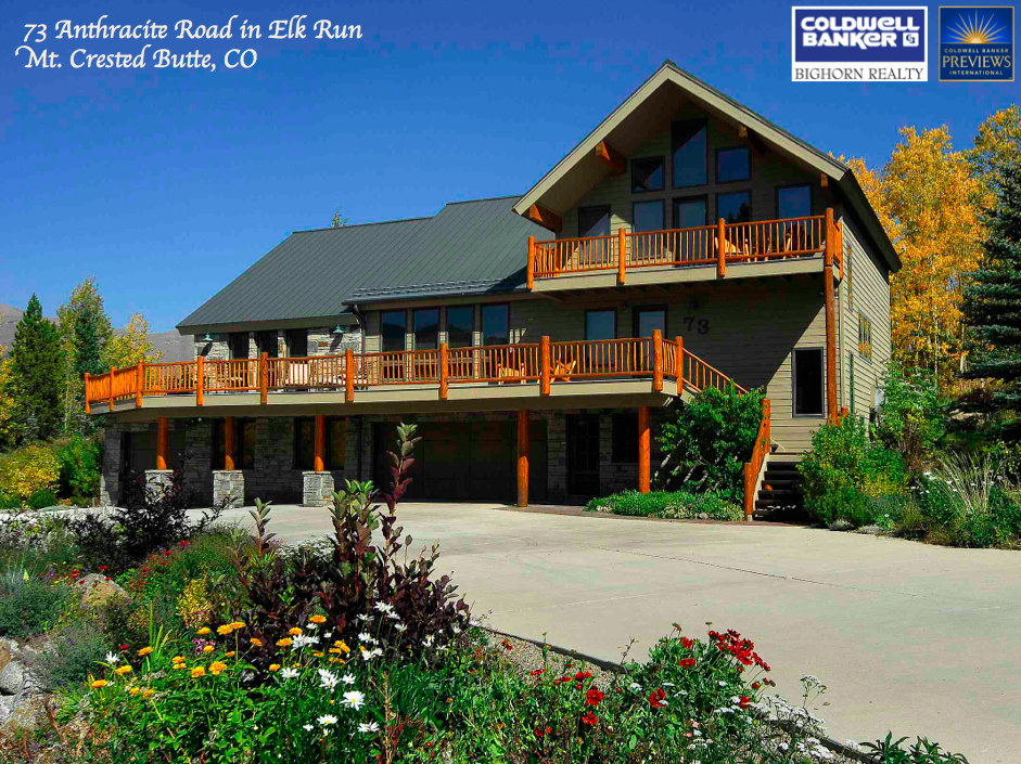 Crested Butte Real Estate 73 Anthracite Sold