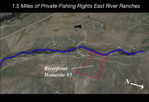 Private Fishing Homesite Crested Butte Real Estate