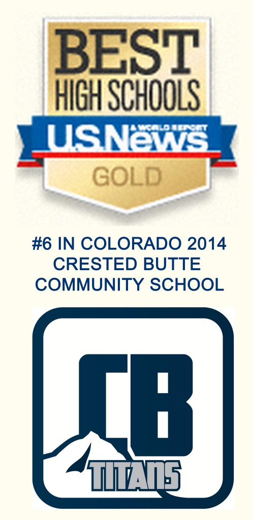 Crested Butte High School Ranks #6 in Colorado