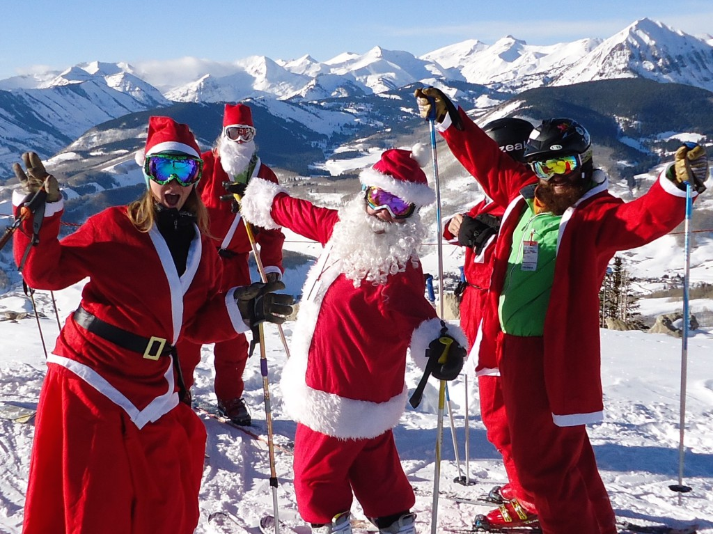 Crested Butte Santa Invasion