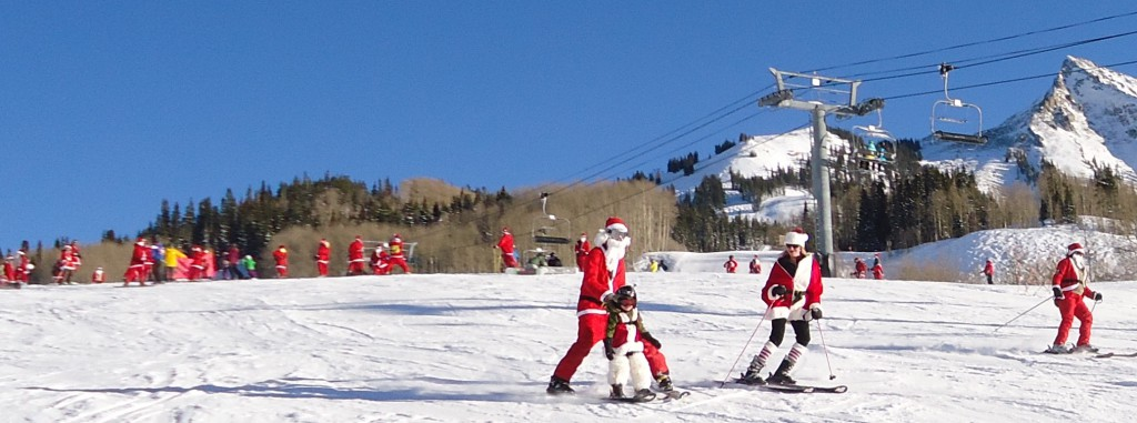 Crested Butte Santa Invasion