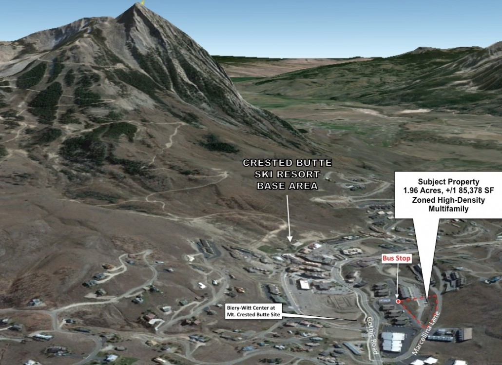 Multi-Family Marcellina Land Mt. Crested Butte Price Reduction