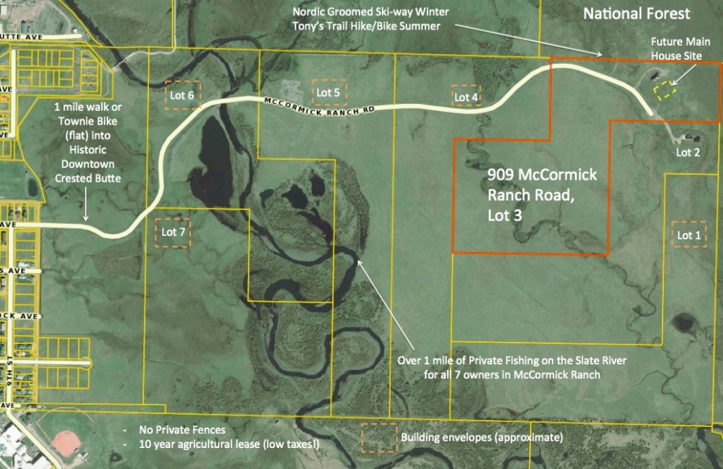 McCormick Ranch Homesites Crested Butte
