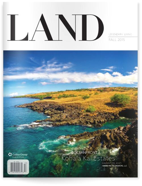 Chris Kopf Article in LAND Magazine Fall 2015