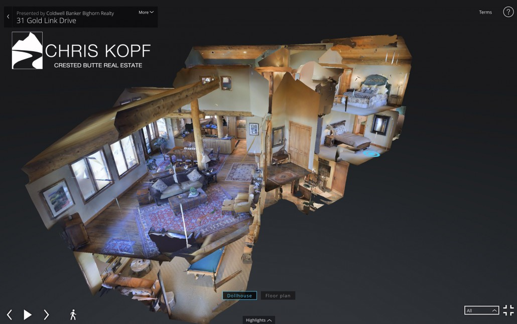 Chris Kopf's Crested Butte 3D Walkthrough Home Tours