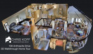 New 3D Walkthrough Home Tour 108 Anthracite Drive Mt. Crested Butte