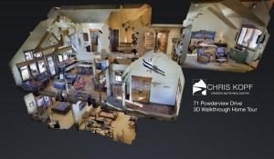 New 3D Walkthrough Home Tour 71 Powderview Drive Crested Butte