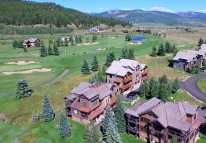 Aerial view skyland golf course