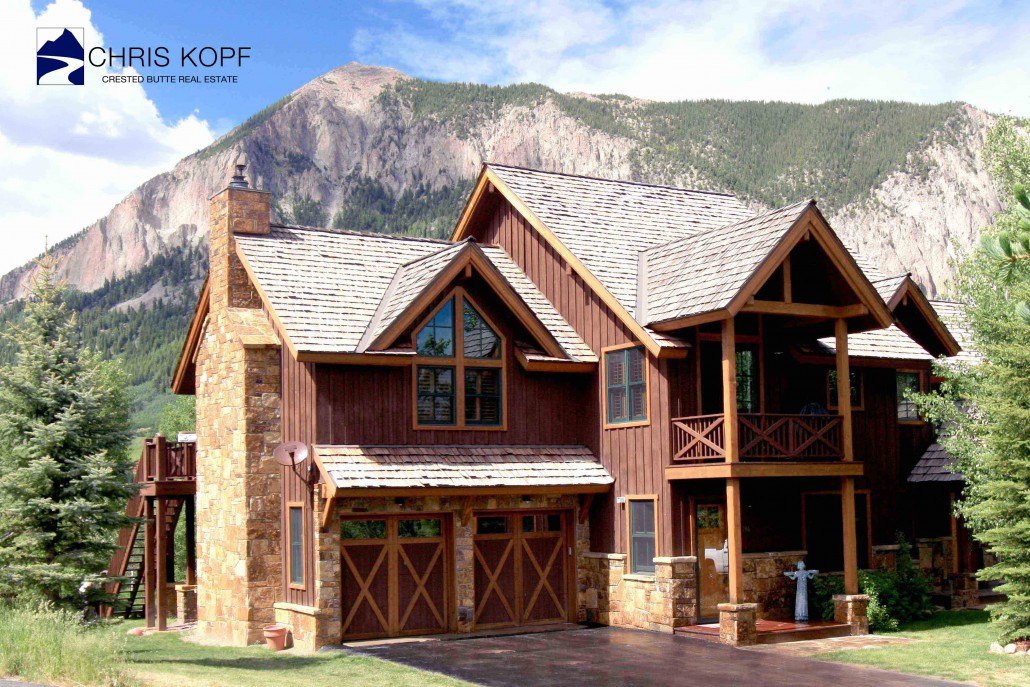 196 Coyote Circle Crested Butte Home For Sale