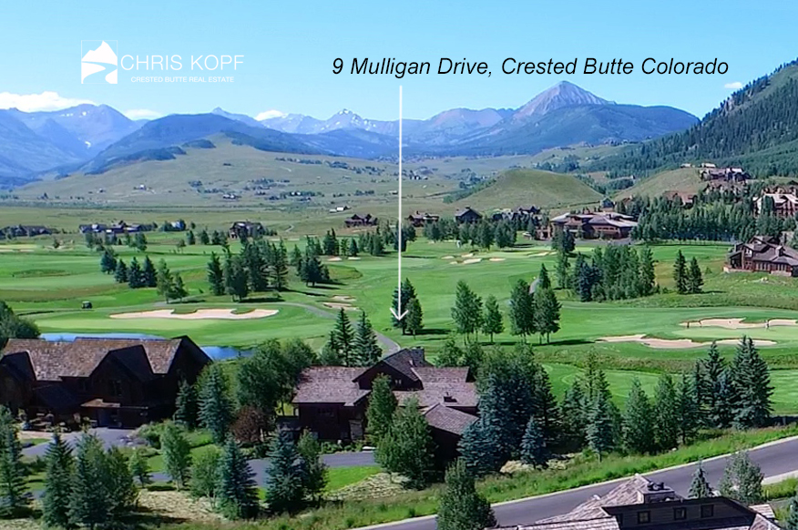 Crested Butte Home 9 Mulligan Drive Back on Market