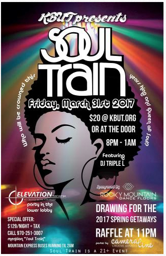Crested Butte KBUT Soul Train