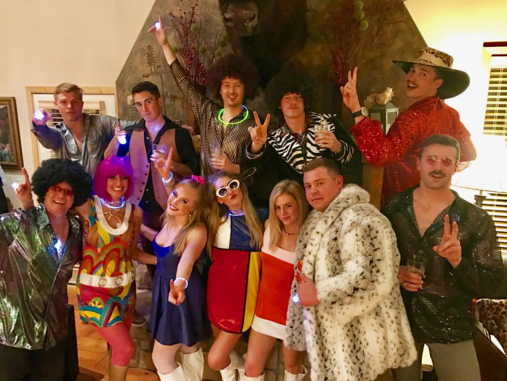 Crested Butte KBUT Soul Train Costumes