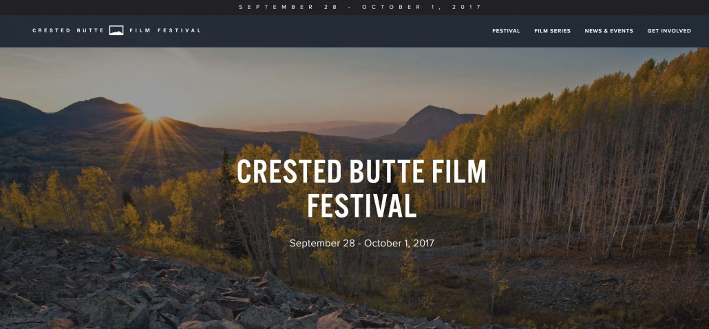 Crested Butte Film Festival Video Interview Michael Brody 2017