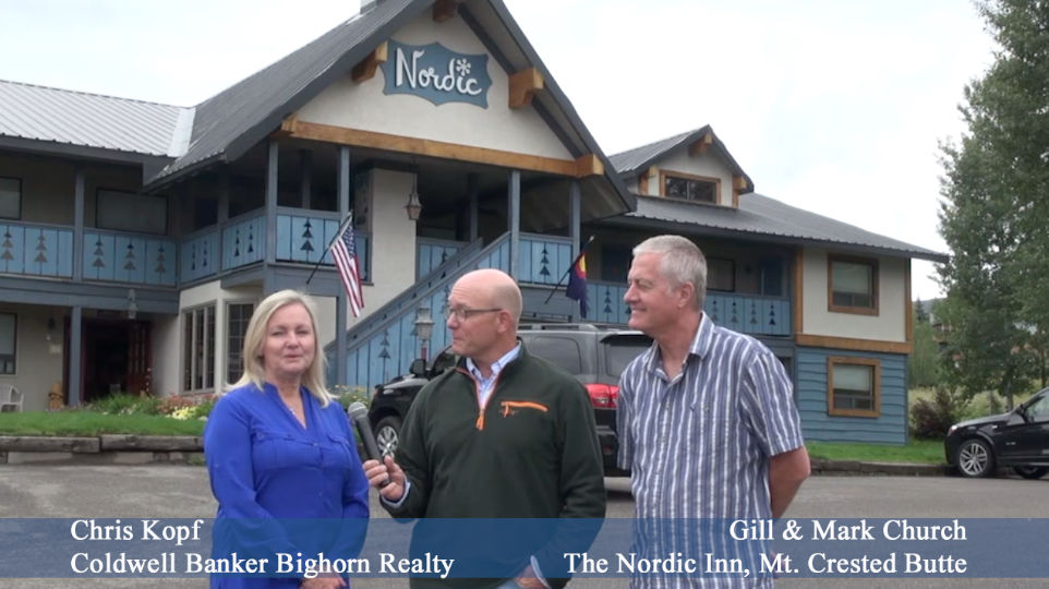 New Ownership Nordic Inn Mt. Crested Butte Video Interview