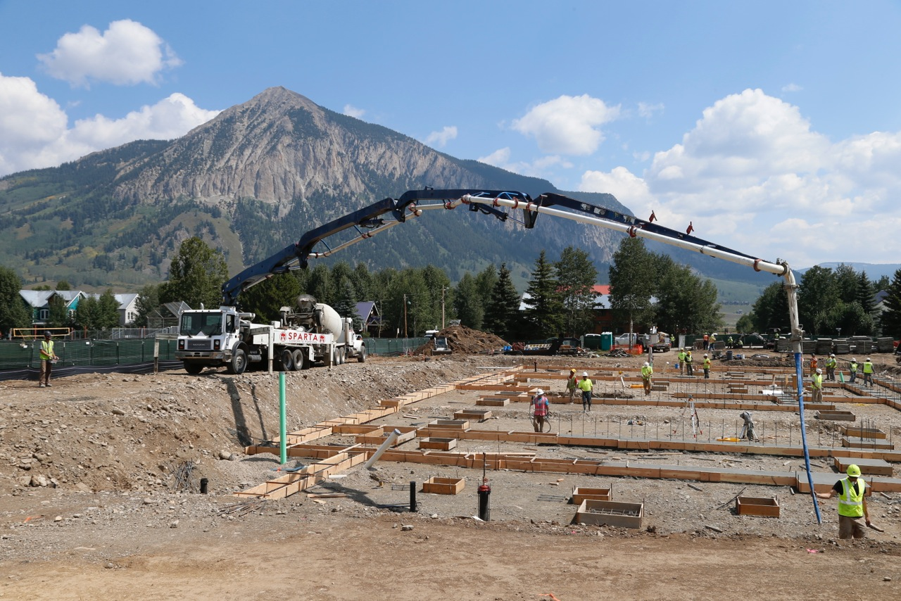Crested Butte Center for The Arts Breaking Ground