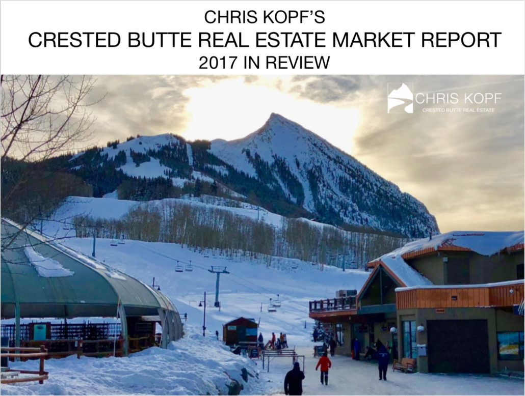2017 Crested Butte Real Estate Market Report