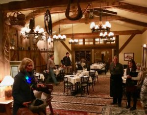 Crested Butte Sleighride Dinner Uley's Cabin