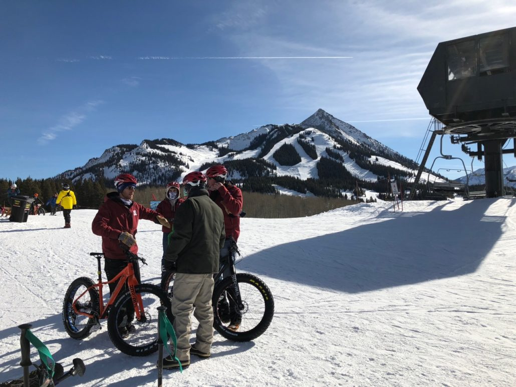 Lift Served Fat Bike Downhill Crested Butte