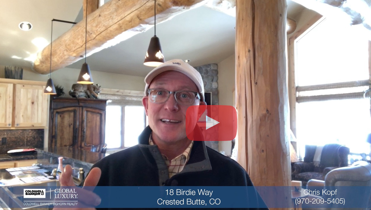 Video Tour 18 Birdie Way Crested Butte Home for Sale
