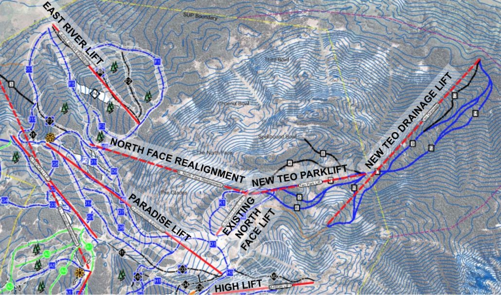Teo 2 Ski Area Expansion Crested Butte Mountain Resort