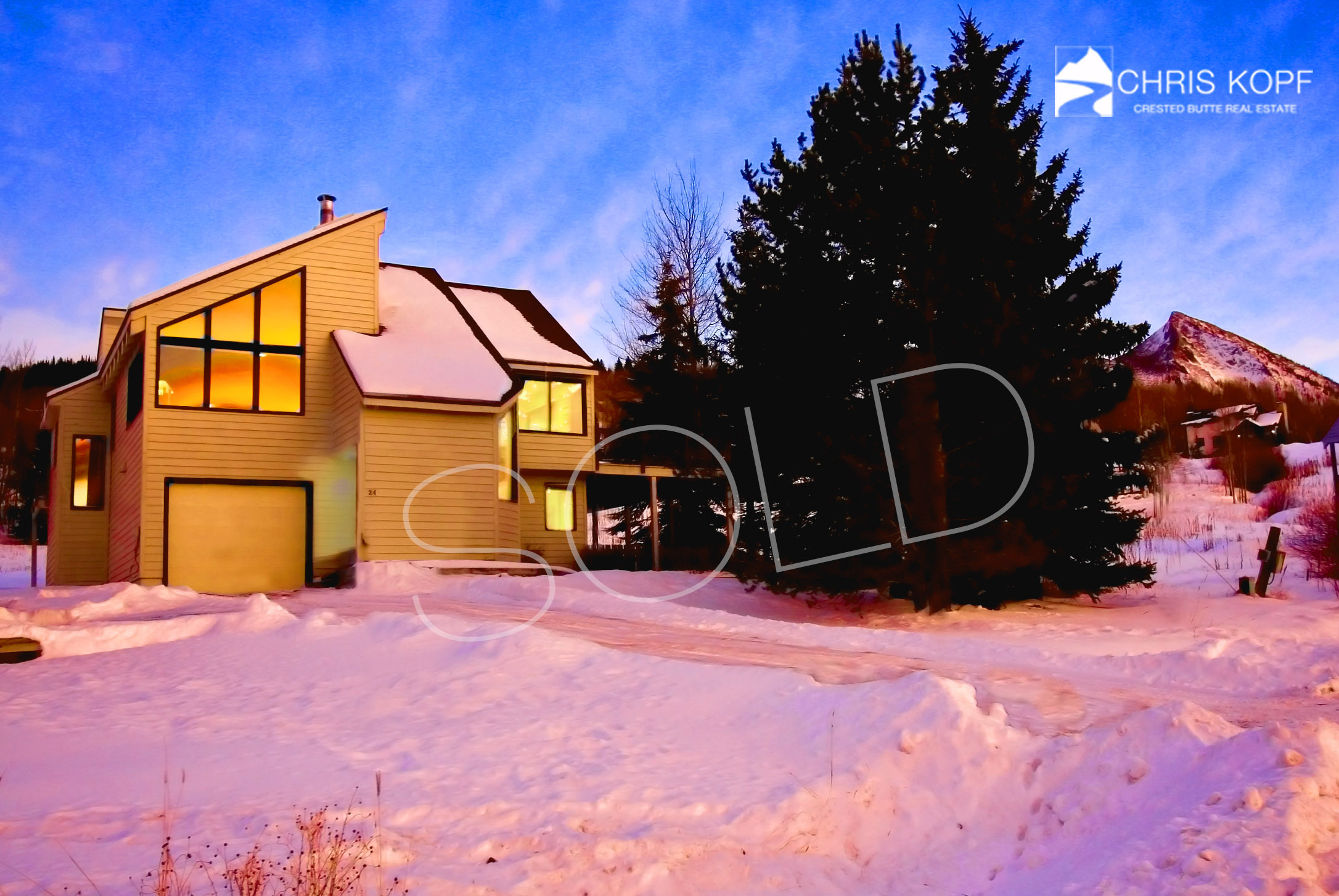 SOLD 24 Cinnamon Mountain Road Mt. Crested Butte
