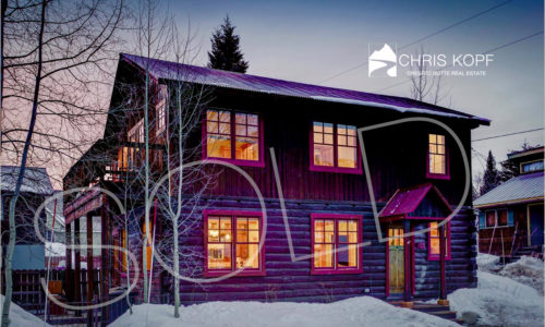 SOLD Crested Butte Home 415 Fifth Street