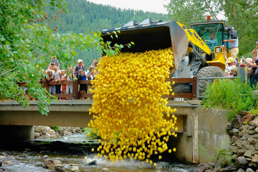 Crested Butte Rubber Duckie Race