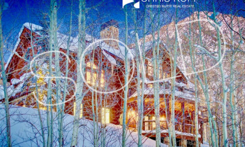 Just Sold Mt. Crested Butte Home 7 Peakview