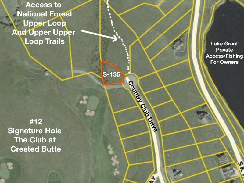 New Golf Course Lot For Sale Crested Butte