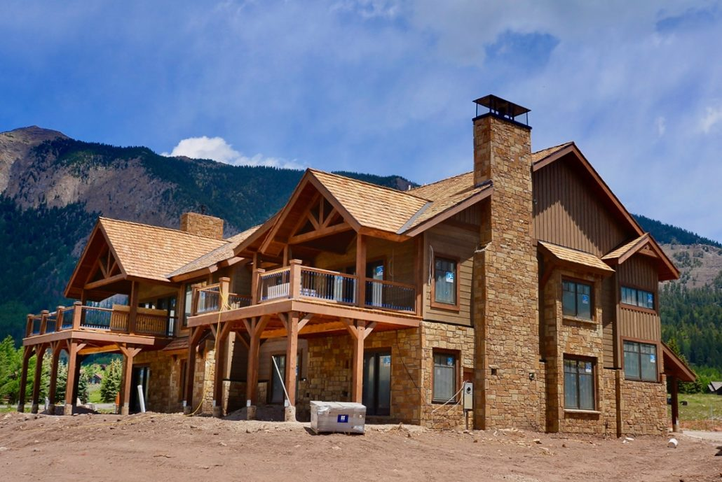 Six NEW Crested Butte Fairway Park Townhomes For Sale