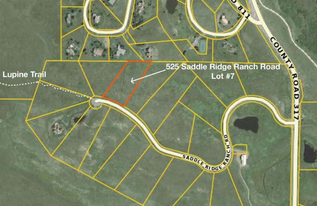 525 Saddle Ridge Ranch Road Homesite For Sale