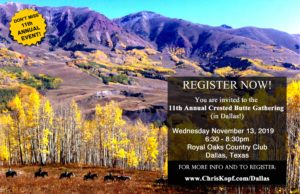 Crested Butte Gathering Dallas