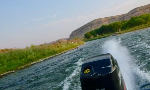 Jet Boat Float Gunnison Gorge