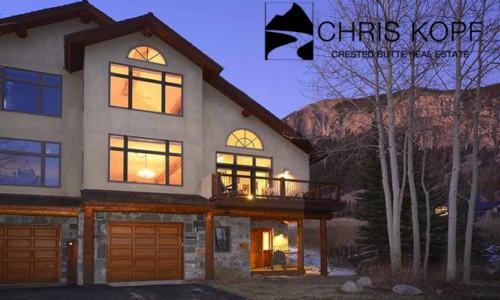 22 Links Lane Crested Butte Townhouse For Sale