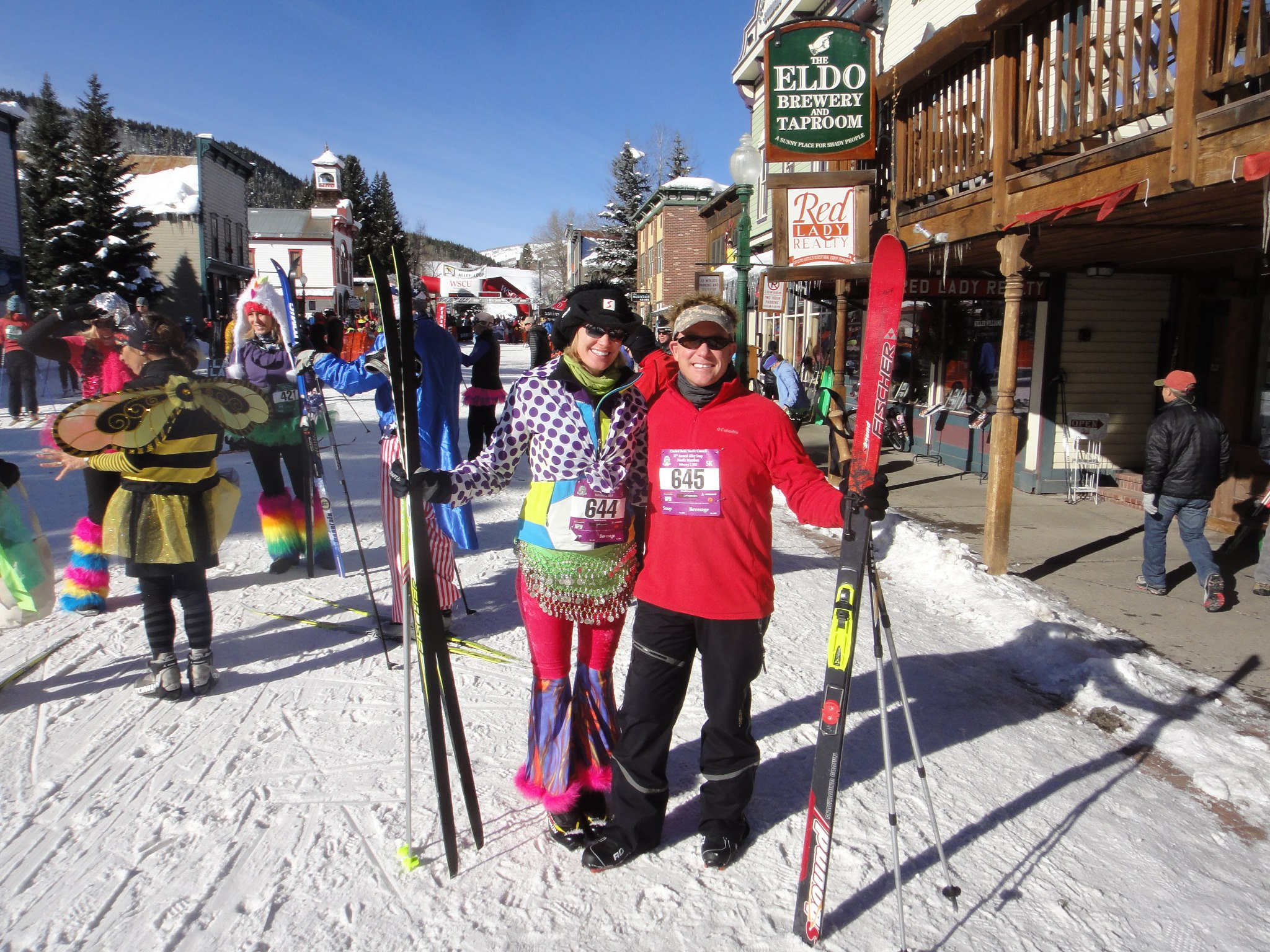 The Alley Loop Nordic Marathon Crested Butte