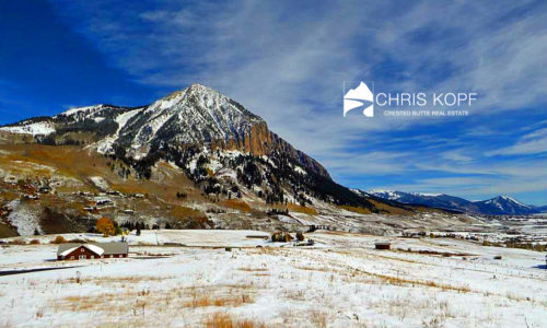 Just Sold Saddle Ridge Homesite Crested Butte