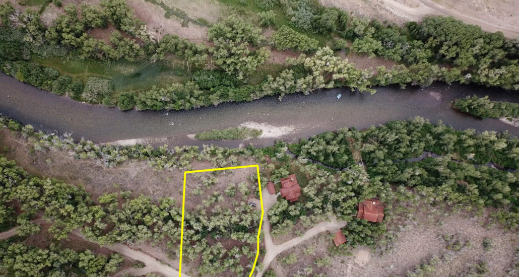 Crested Butte Area Riverfront Homesite For Sale